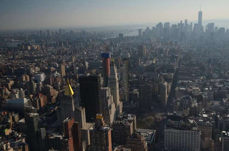 NEW YORK - Vue depuis l'Empire State Building