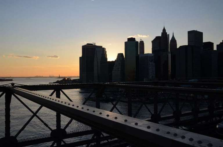 NEW YORK - Le pont de Brooklyn