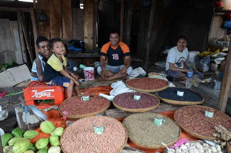 Chez les Manggarai Barat, le marché de Lembor