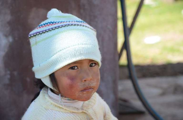 Chiffron, lac Titicaca