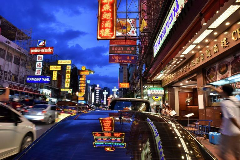 THAÏLANDE - Bangkok, le quartier de Chinatown
